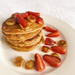 I've been a bit awol on the breakfast scene lately so here are some pancakes to …